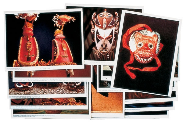 Mask Prints, Set of 12
