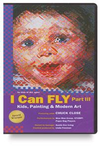 I Can Fly III: Kids, Painting & Modern Art, DVD