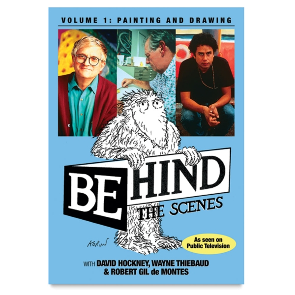 Behind the Scenes Volume 1: Painting and Drawing DVD