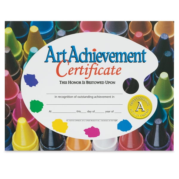 Art Achievement Award, Style 1