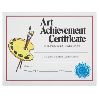 Art Achievement Award, Style 2
