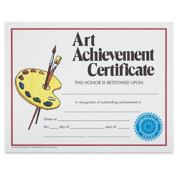 Art Achievement Award, Style 2