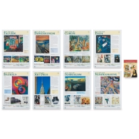 Fauvism to Nonfigurative, Set of 8 Posters