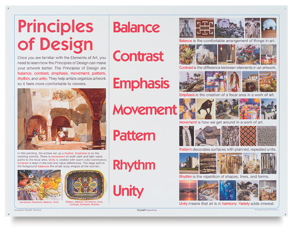 elementary art and design posters blick art materials