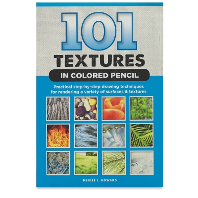 <cite>101 Textures in Colored Pencil</cite>provides artists with step-by-step instructions for creating a wide variety of common textures and surfaces. Learn to draw realistic sand, water, metals, foliage, wood, fabrics, stone, grass, hair, and more using colored pencils.
