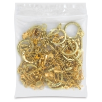 Jewelry Finding Assortment, Gilt Finish