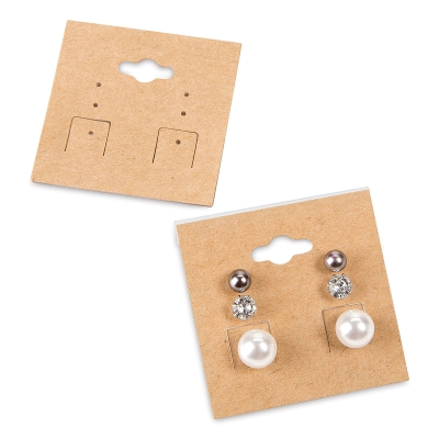 Hanging Earring Cards Pkg Of 24 Jewelry Not Included