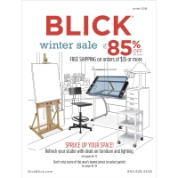 Artist's Sale Flyer