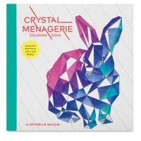 Crystal Menagerie Coloring Book