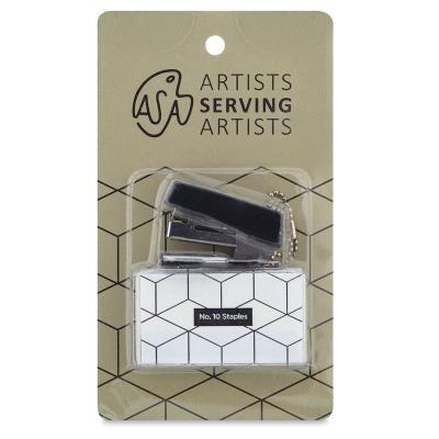 Artists Serving Artists Keychain, Mini Stapler