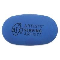 Pebble Eraser, Blue