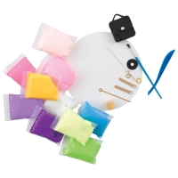 Boho Expressionz Marbled Clock Kit