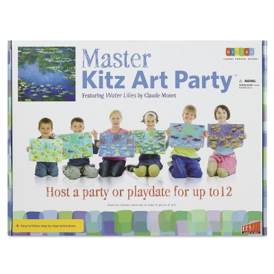 Master Kitz Art Party Featuring Water Lilies