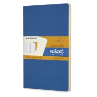 Forget-Me-Not Blue and Yellow, Large Notebooks, Pkg of 2