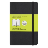 Soft Cover Notebook, Pocket, Blank