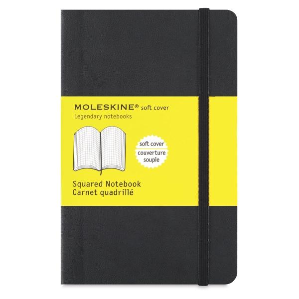 Soft Cover Notebook, Pocket, Gridded