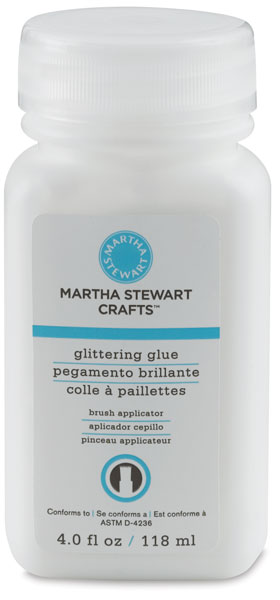 Glittering Glue with Brush