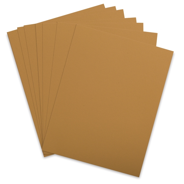 Cover Paper, Antique Gold, Pkg of 10 Sheets