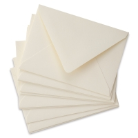 4 Bar Envelopes, Soft White, Pkg of 10