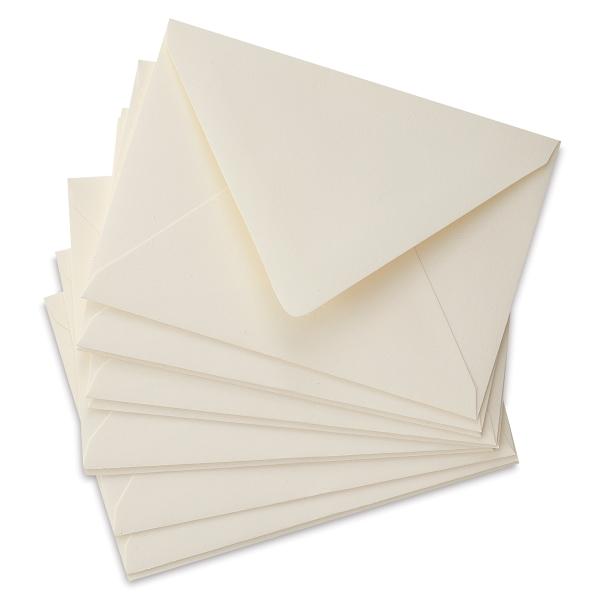 4 Bar Envelopes, Soft White, Pkg of 10