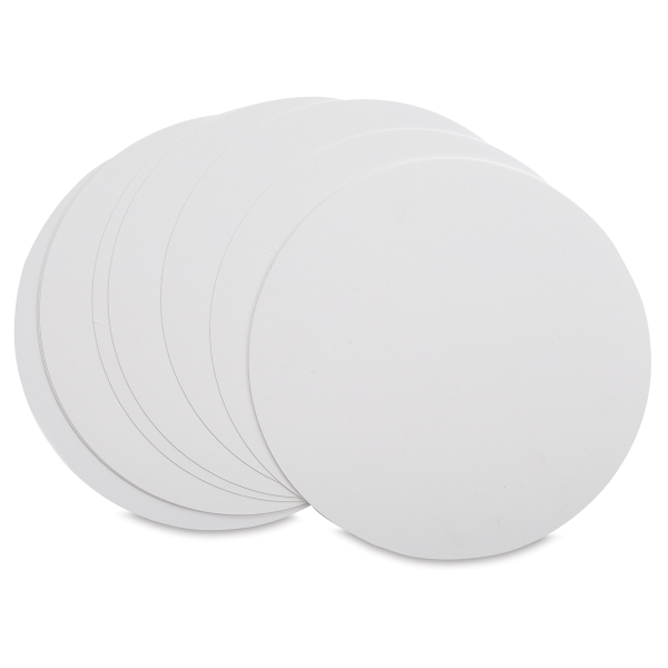Circle Cards, Pure White, Pkg of 10