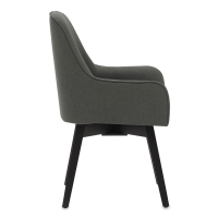 Spire Swivel Chair, Pewter