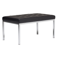 "Lintel Bench, Black, 35""W"