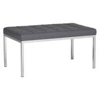 "Lintel Bench, Smoke, 35""W"