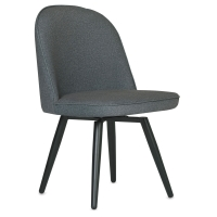 Side Chair, Charcoal