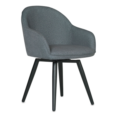 Arm Chair, Charcoal