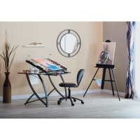 Futura Luxe Craft Table (Shown in use. Chair and Easel not included)