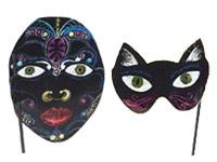 Carnival Scratch Art Mask