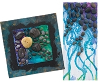 Geomorphic Watercolor Mosaics