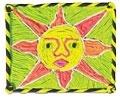 Huichol Clay Painting