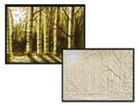 Masking Tape Window Masterpieces