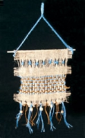 Native American Burlap Weaving