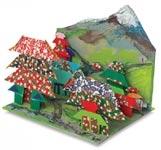 Origami Village Diorama