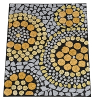 Ostrich Eggshell Mosaic