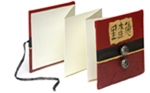 Painted Accordion Books