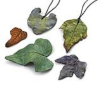 Paper Clay Leaves