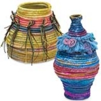 Paper Coil Baskets