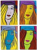 Pop Art Portraits: in the style of Andy Warhol