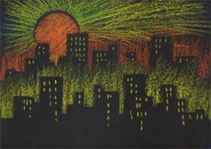 Stencil City Lesson Plan