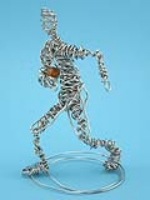 Wireform Figure Sculpture