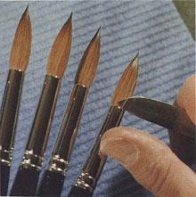 Kolinsky Brushes