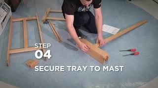How to Assemble a Blick Studio Light-Duty H-Frame Easel