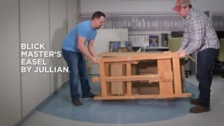 How to Assemble a Blick Master's Easel by Jullian