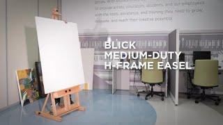 How to Assemble a Blick Studio Medium-Duty H-Frame Easel