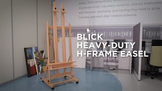 How to Assemble a Blick Studio Heavy Duty H-Frame Easel