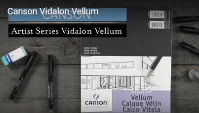 Canson Vidalon Vellum